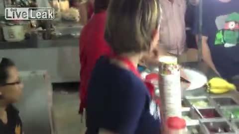robienie loda party girl
